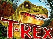Тираннозавр от компании RTG с выигрышными комбинациями за удачные спины