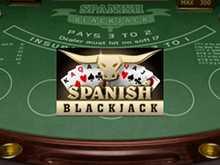 Автомат Spanish Blackjack на зеркале GMSlots